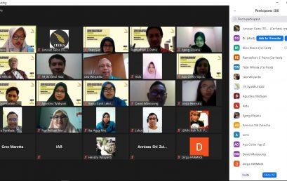 Dorong Program Guru Besar Under 45, Jurusan Sains Adakan Seminar Online Strategi Pengembangan Karir Dosen